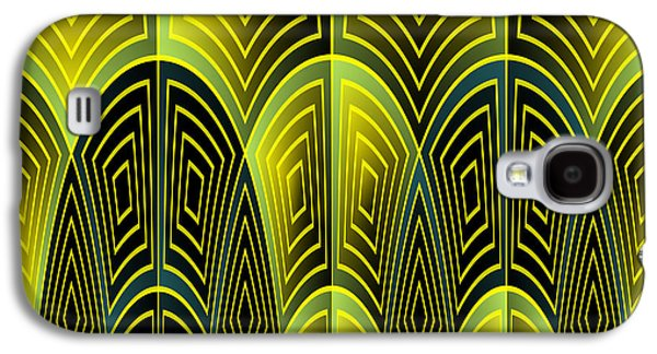 Green Feathers Galaxy S4 Case
