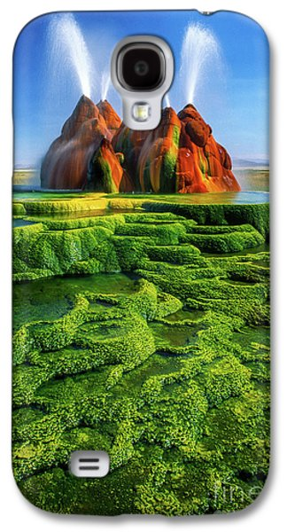 Green Fly Geyser Galaxy S4 Case