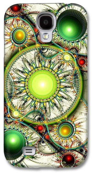Green Jewelry Galaxy S4 Case by Anastasiya Malakhova