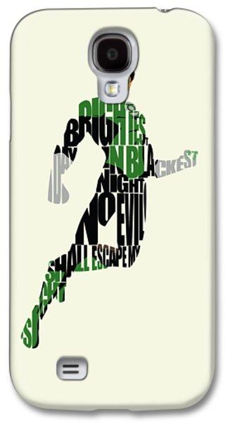 Green Lantern Galaxy S4 Case