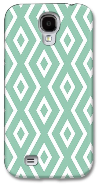 Green Pattern Galaxy S4 Case