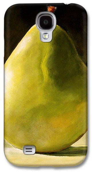 Green Pear Galaxy S4 Case by Toni Grote