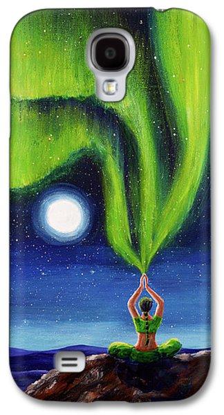 Green Tara Creating The Aurora Borealis Galaxy S4 Case