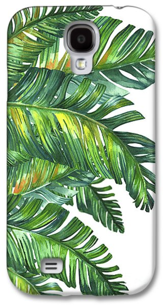 Green Tropic  Galaxy S4 Case by Mark Ashkenazi