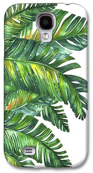 Fantasy Galaxy S4 Case - Green Tropic  by Mark Ashkenazi