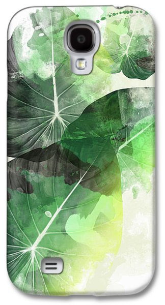 Green Tropical Galaxy S4 Case by Mark Ashkenazi