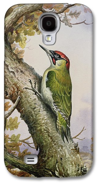 Green Woodpecker Galaxy S4 Case