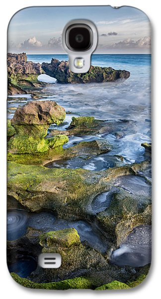 Greenery In Coral Cove Galaxy S4 Case by Andres Leon