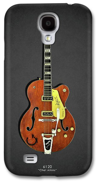 Guitar Galaxy S4 Case - Gretsch 6120 1956 by Mark Rogan