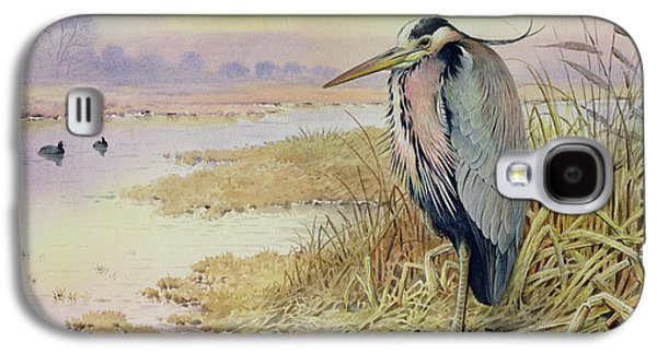 Grey Heron Galaxy S4 Case
