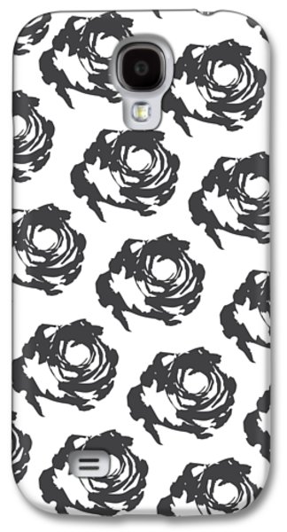 Grey Roses Galaxy S4 Case by Cortney Herron