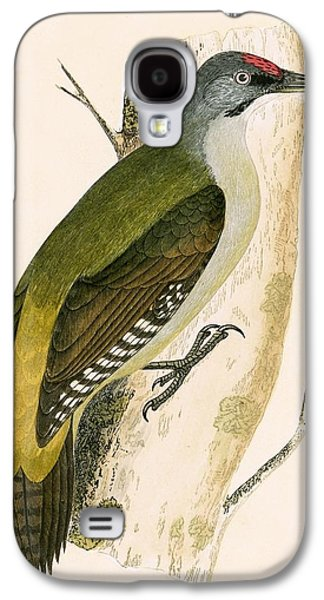 Grey Woodpecker Galaxy S4 Case by English School