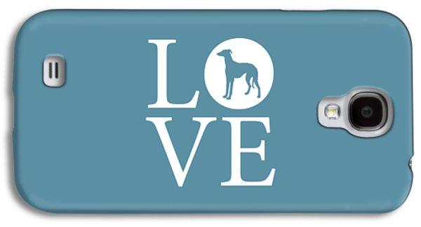 Greyhound Love Galaxy S4 Case by Nancy Ingersoll