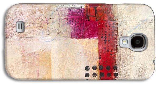 Grid 9 Galaxy S4 Case by Jane Davies