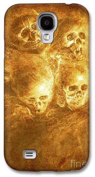 Grim Tales Of Burning Skulls Galaxy S4 Case by Jorgo Photography - Wall Art Gallery