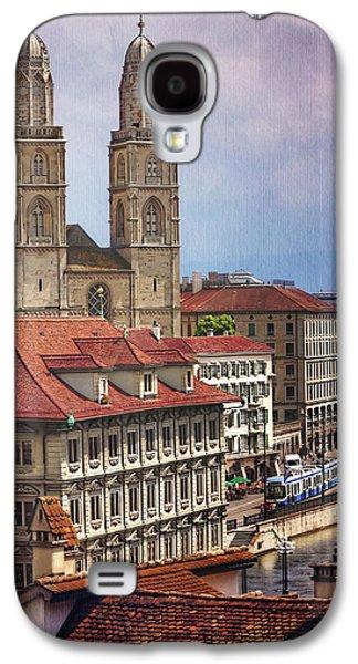 Grossmunster In Zurich Galaxy S4 Case by Carol Japp