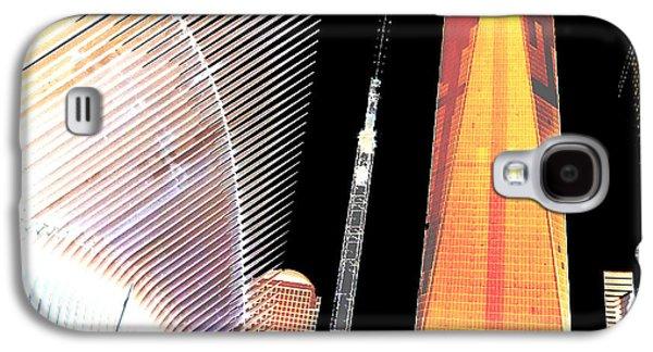 Ground  Zero Freedom Tower Formerly World Trade  Centre Wtc New York Photo Taken On July 4 2015 Usa  Galaxy S4 Case by Navin Joshi
