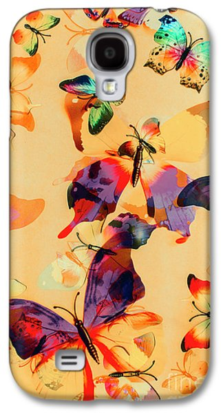 Group Of Butterflies With Colorful Wings Galaxy S4 Case by Jorgo Photography - Wall Art Gallery