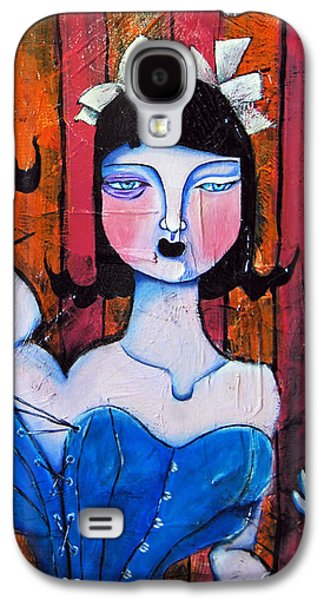 Growth And Introspection Galaxy S4 Case by Ela Steel
