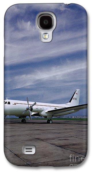 Grumman G-159 Gulfstream Patiently Waits, N719g Galaxy S4 Case by Wernher Krutein