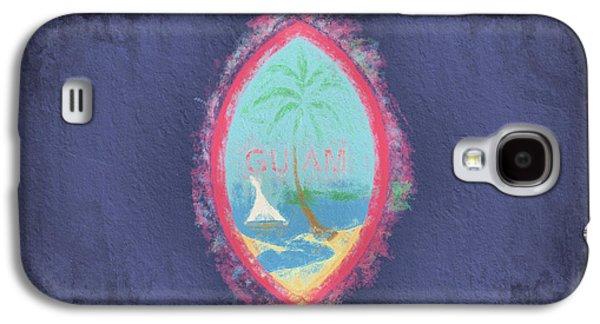 Galaxy S4 Case featuring the digital art Guam Flag by JC Findley