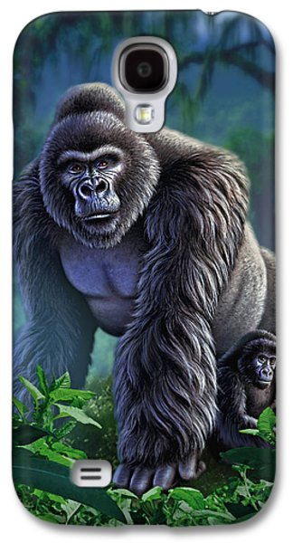 Gorilla Galaxy S4 Case - Guardian by Jerry LoFaro