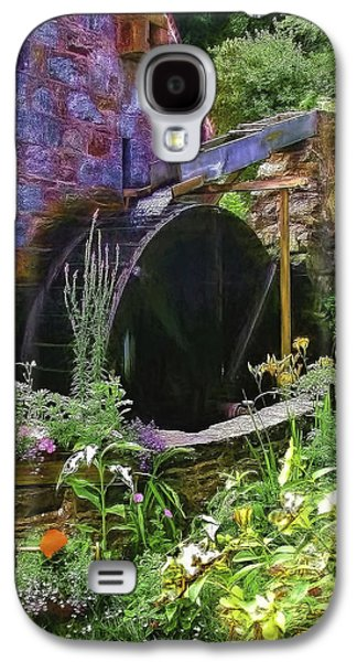 Guernsey Moulin Or Waterwheel Galaxy S4 Case