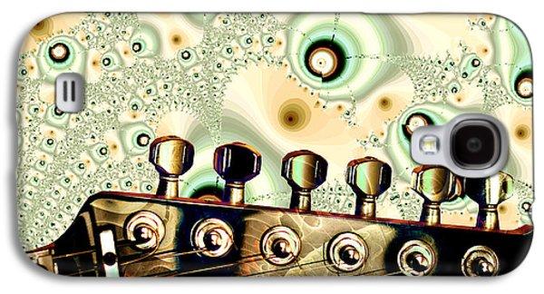 Guitar Head - Fantasy - Musical Instruments Galaxy S4 Case by Anastasiya Malakhova