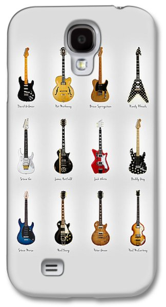 Guitar Icons No2 Galaxy S4 Case by Mark Rogan