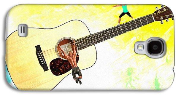 Guitar Workout Galaxy S4 Case