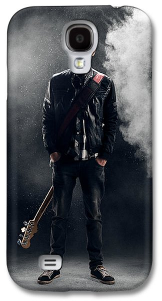 Guitarist Galaxy S4 Case by Johan Swanepoel