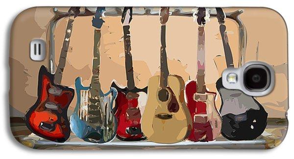 Guitars On A Rack Galaxy S4 Case
