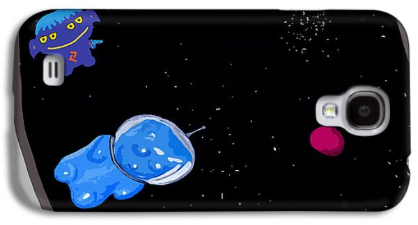 Gummy Bear In Space With Alien Galaxy S4 Case