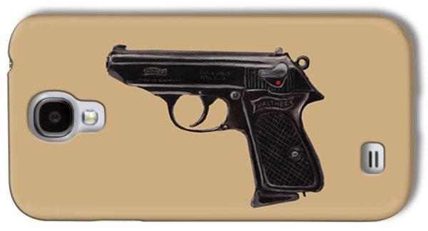 Gun - Pistol - Walther Ppk Galaxy S4 Case