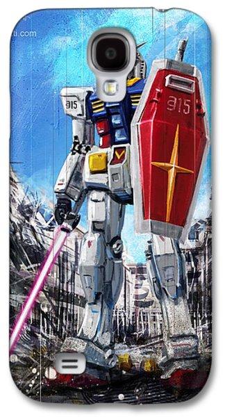 Gundam Lingotto Saber Galaxy S4 Case by Andrea Gatti
