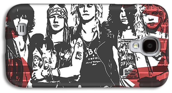 Guns N Roses Graffiti Tribute Galaxy S4 Case