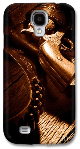 Gunslinger Tool - Sepia Galaxy S4 Case