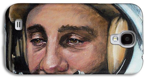 Gus Grissom Galaxy S4 Case by Simon Kregar