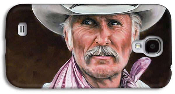 Gus Mccrae Texas Ranger Galaxy S4 Case by Rick McKinney