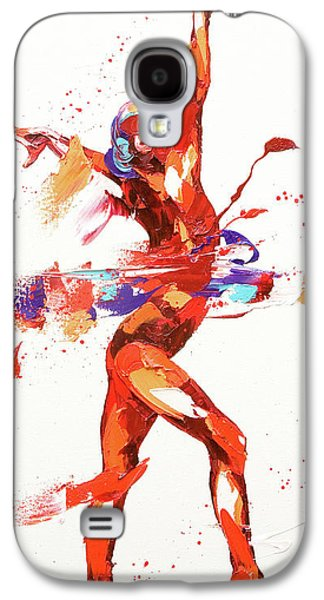 Gymnast Four Galaxy S4 Case by Penny Warden