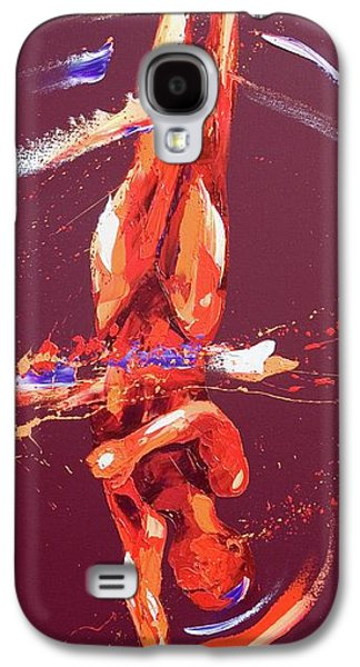 Gymnast Six Galaxy S4 Case by Penny Warden