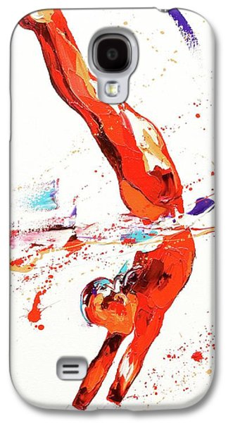 Gymnast Three Galaxy S4 Case by Penny Warden