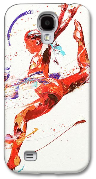 Gymnast Two Galaxy S4 Case by Penny Warden