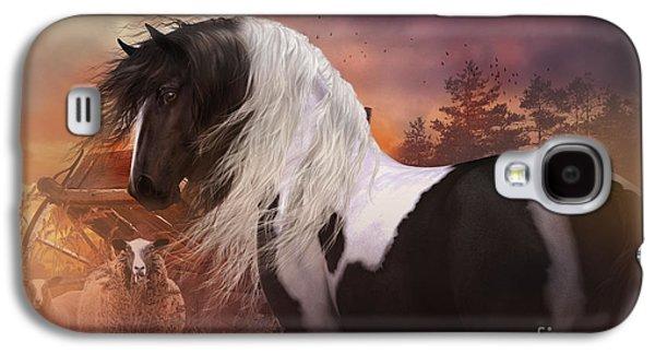 Gypsy On The Farm Galaxy S4 Case by Shanina Conway