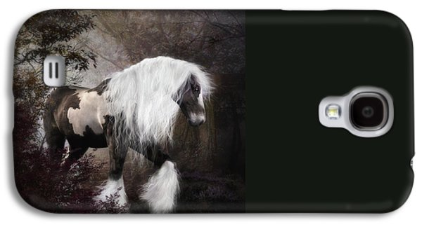 Gypsy Galaxy S4 Cases - Gypsy Vanner Galaxy S4 Case by Shanina Conway