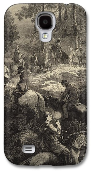 H R H The Prince Of Wales Deer Stalking  Galaxy S4 Case