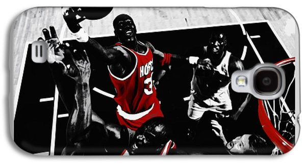 Hakeem Olajuwon Gimme Dat Galaxy S4 Case by Brian Reaves