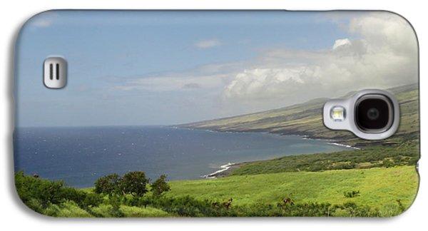 Haleakala's Dry Slope, East Maui Galaxy S4 Case by Feva Fotos