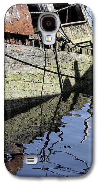 Half Sunk Boat Galaxy S4 Case