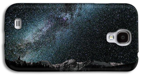Hallet Peak - Milky Way Galaxy S4 Case